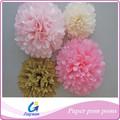 flor de papel fazendo presentes artesanato pompom bolas para venda