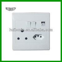 New design Brazilian Electrical Outlet With Built-in USB Ports