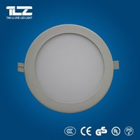 2015 new CE RoHS 6W 12W 18W AC85-265V led ceiling panel light Round Square Surface Mounted Led Panel Light