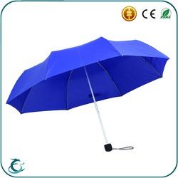 "best quality 21"" 8 ribs promotional aluminum fold umbrella"