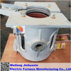 Aluminum Shell 0.05T Alloy Melting Electric Induction furnace