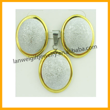 Professional OEM factory generous fashion delicate jewelry set for women