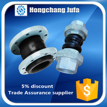 din standard pn16 bellow flange type rubber expansion joints concrete