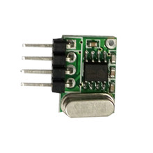 DC5V Super-regenerative decoding Wireless control receiving modules