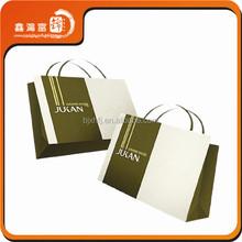 popular portable custom logo bag shopping