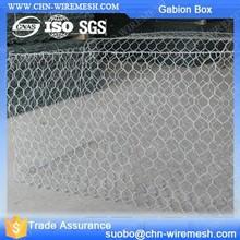 Stone Gabion Galvanized Gabon Stone Cage 1X1X1 Gabion Box