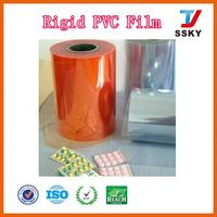 Modern cheap white thermoforming plastic sheet rolls pvc sheets yellow