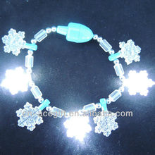 flashing bracelet,light up snowflake decorations