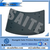 19036 factory non asbestos industry drum heavy truck BPW brake lining for truck