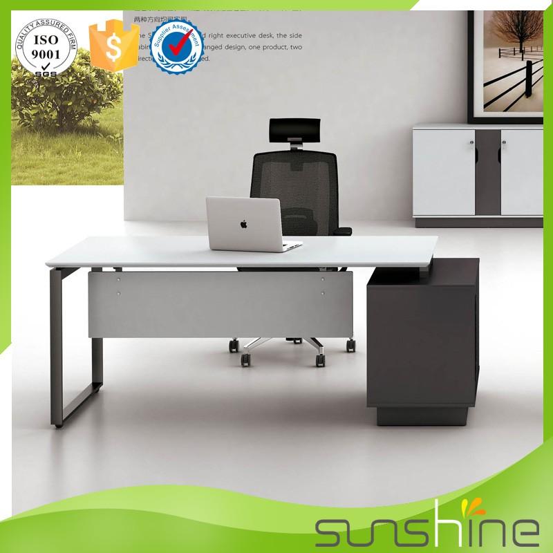 YS-MED05 Moderno Mobiliario de Oficina de Acero Inoxidable Mesa de ...