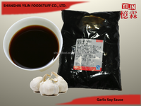 1kg Bag OEM ODM Garlic Flavor Soy Sauce