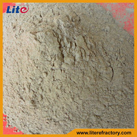 Fireproof Material Unshaped Refractory Ramming Material Induction Furnace Acid Lining Material Manufacturer