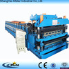 double layer machine/high quality double layer roll forming machine /roof tile making machine