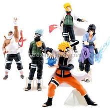 Naruto Anime Action Figures Toy Set Pvc Figure Collectors / custom OEM figure/custom pvc toy figure