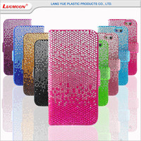 Diamond PU leather mobile phone case for lenovo a536 case