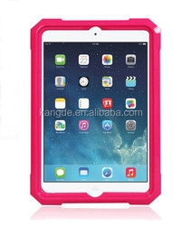 Hot popular!!rugged shock proof silicone case for ipad 6 case,rugged proof tablet cases for ipad air 2 case,for ipad air 2 cases