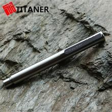 Outdoor titanium ergonomic pens