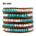 Pulseras tejidas pop internacional Turquoise Bracelet