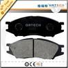 Textar brake pads D1233 for Almera,Sunny,Renault