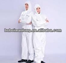 disposable nonwoven fire protection coverall