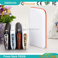 New design ! PB208 Colourful 5200mah high quality torch light recharger