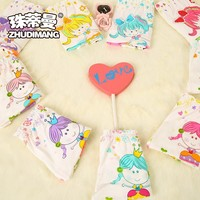 Wholesale Young Girls Underwear Models Hot Sell Kid Girl Model Underwer Polyester Thong Panty