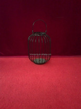 C155 decorative metal bird cages candle holder for wedding and party decoration