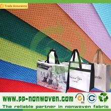 Wholesale fabric 100% popypropylene non woven fabric for bag