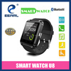 2015!1.48 Inch MTK6260 Bluetooth Watch Android Smart Watch U8 with Anti Lost Barometer Pedometer Altimeter