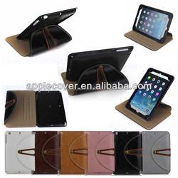 Hot ! Luxury Unique Case for iPad Mini 2 with belt , for apple iPad Mini 2 case
