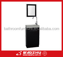 Dark walnut Bathroom cabinet (BZ705) Simple design MDF wood bathroom furniture