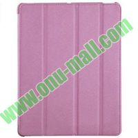 hot selling 4 folding flip leather case cover for iPad 2 3 4