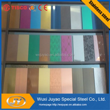 304 color stainless steel sheet