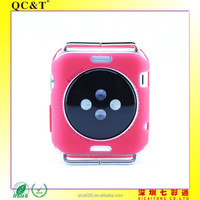 2015new Ultra Thin Back Cover Case For Apple I Watch Clear TPU Soft