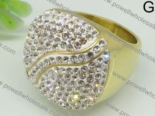 Newest Design From Powell chinese silver rings jewelry