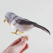 2015 best selling toys unstuffed plastic garden bird ornaments