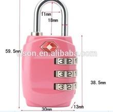 TSA Combination Lock luggage lock approved by TSA Travel Suitcase Luggage Lock