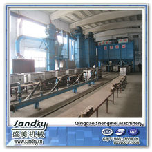 10 ton sand process lost foam casting equipment for foundry