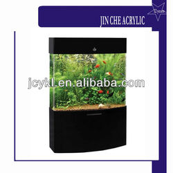 Floor Stand Acrylic Fish Tank With LED lighting Inside