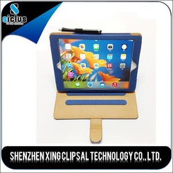 2015 hot sale wholesale pu Leather cases for iPad 6 with high quality cheap price