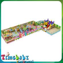 Plastic happy sliding swing combined toy ,indoor playground kids fun city
