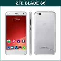 Original Qualcomm Snapdragon 615 MSM8939 Octa Core 4G LTE Android 5.0 ZTE Blade S6 Mobile Phone
