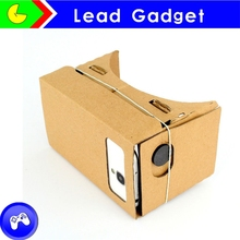 New fashion paper 3d glasses cheap cardboard 3d glasses google carboard virtual reality glasses
