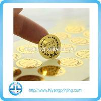 Roll form warranty label stickers/laser stickers/hologram labels