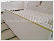 beautiful pure white onyx slab