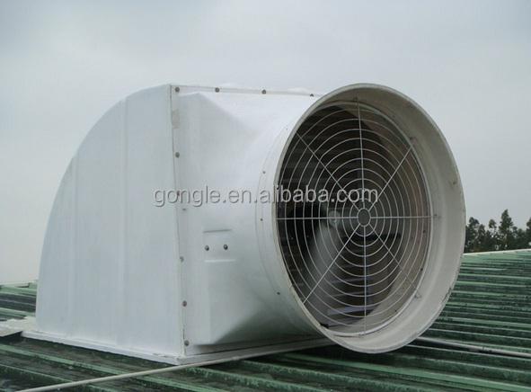 Industrial Wall Exhaust Fan : Industrial butterfly wall mounted cone exhaust fan for