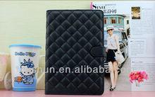 Stylish Lattice smart cover case for ipad mini design