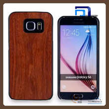 New Wood Bamboo Cell Phone Case for Samsung Galaxy S6 Edge, for Samsung Case Bamboo, for Samsung Galaxy S6 Bamboo Case