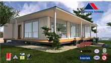 Econova light steel structure low cost prefab house