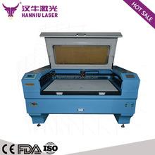 hot sale used LK-1610 co2 laser cutting machine for cut wedding card felt